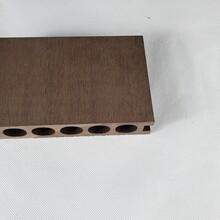 140-30圆孔塑木地板图片
