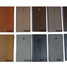 河南壓花塑木地板生產廠家,仿木塑木地板圖片