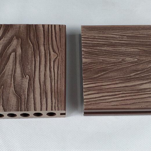 西城壓花塑木地板怎么安裝,木紋塑木地板