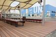 綿陽壓花塑木地板和防腐木哪個好,木紋塑木地板