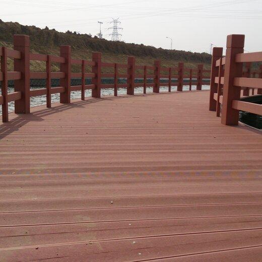 明太木塑欄桿,承德塑木欄桿生產廠家
