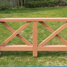 明太塑木護欄,賀州塑木欄桿怎么安裝圖片