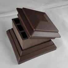 灌南縣塑木欄桿采購,塑木護欄圖片