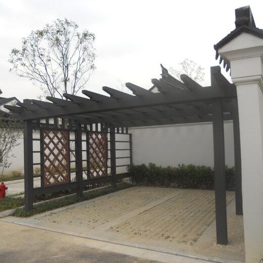洪澤區塑木景觀廊架價格