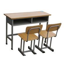 河北雙人固定式學生課桌椅培訓班輔導班課桌椅定制批發生產廠家