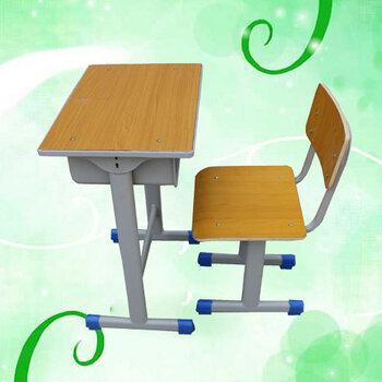 河北單人學生課桌椅非升降課桌椅學校固定課桌椅定制生產廠家