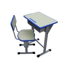 河北單人多功能繪圖課桌椅桌面可調節學生課桌椅定制批發生產廠家