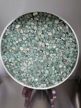 吉林松原彩色露骨料供应商露骨料透水地坪指导图片