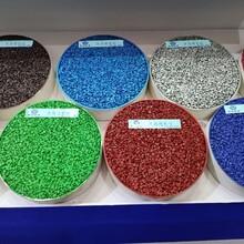 山西太原彩色露骨料透水混凝土材料施工图片