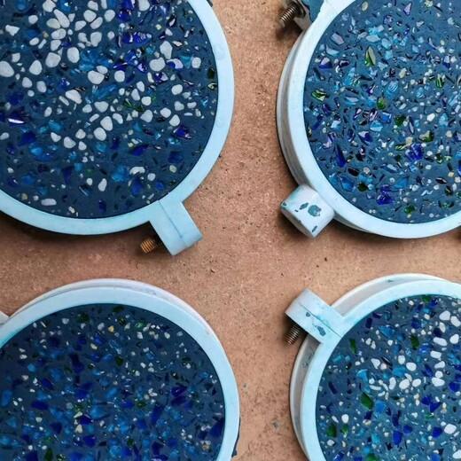 广东潮州艺术砾石聚合物地面材料铺装