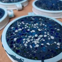 安徽芜湖主题乐园洗砂艺术地面装饰效果图片