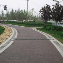 河北沧州海绵城市透水混凝土材料施工图片