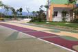 广西彩色透水地坪路面铺装,贵港彩色透水地坪施工步骤
