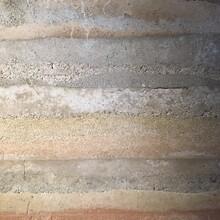 江苏仿黄土墙包工包料,南通外墙稻草漆材料图片
