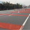 廣西南寧無振動坡道彩色路面做法
