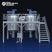 供應立式攪拌機均質攪拌機液洗攪拌機化妝品設備圖片