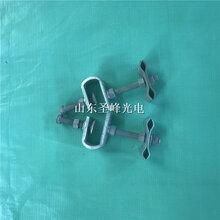 圣峰桿用引下夾具ADSS光纜用引下夾具不銹鋼引下線夾圖片