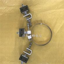 圣峰光纜引下線夾引下夾具ADSS光纜引下卡具圖片