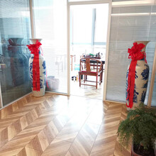 西安公司搬遷大花瓶,陶瓷景泰藍花瓶銷售,校慶紀念工藝品圖片