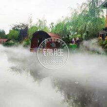 湖南降温喷雾、湖南人工雾景观、湖南消毒通道喷雾图片