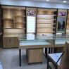 湛江放置眼镜架子展示货架多层格子木纹眼镜柜