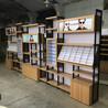 太阳眼镜柜台木纹展示柜中岛眼镜货架厂家定制