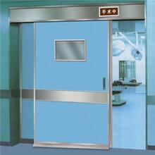 南京菲勒脚感应自动平移门手术室电动门手术室自动门不锈钢门图片