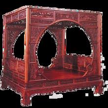 嶧陽齋新中式花梨木現代簡約抽屜儲物臥室紅木家具