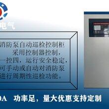 消防泵自动巡检控制柜水泵控制箱双速风机配电箱厂家直销图片