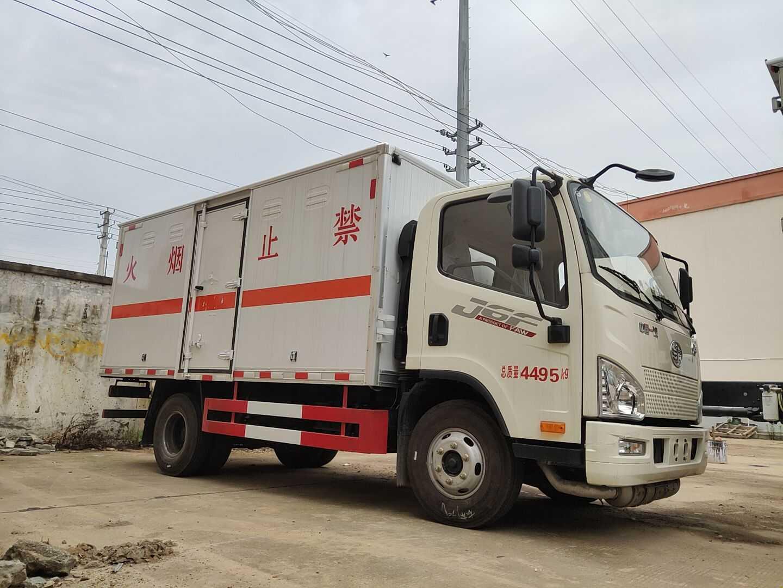 东莞小型解放虎厢式车优质服务
