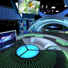 河源虛擬演播室設計價格圖片