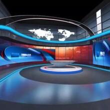 揭陽高清演播室設計圖片