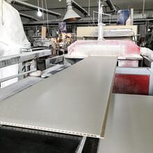 采购:庆阳市400宽仿大理石纹竹木纤维板工装家装装饰面板规格齐全图片