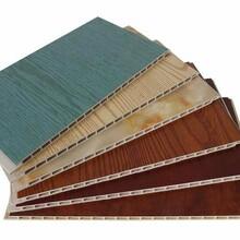采购:新乡市400宽竹木纤维pvc扣板墙面墙裙吊顶材料规格齐全图片