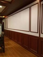 采购:咸宁市400宽竹木纤维pvc扣板宾馆KTV装饰材料质量可靠图片