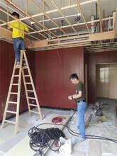 采购:鄂州市400宽仿大理石纹竹木纤维板墙面墙裙吊顶材料批发代理图片