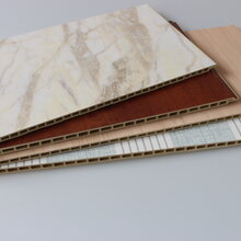 工装家装护墙材料竹木纤维集成墙板价格图片