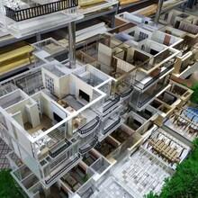 哈尔滨场景沙盘模型设嗡计制作图片