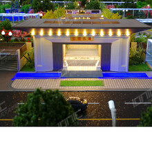 牡丹江场景沙盘模型设计价格图片