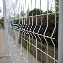 大宅门专业生产三角折弯护栏网/桃型柱防护网/双边丝护栏网等图片