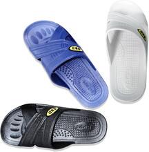 防靜電拖鞋女工廠無塵車間電子廠男防臭軟底透氣ESD鞋子三色圖片