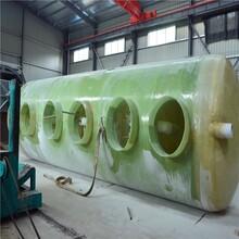 肇庆玻璃钢化粪池大小、10玻璃钢化粪池图片