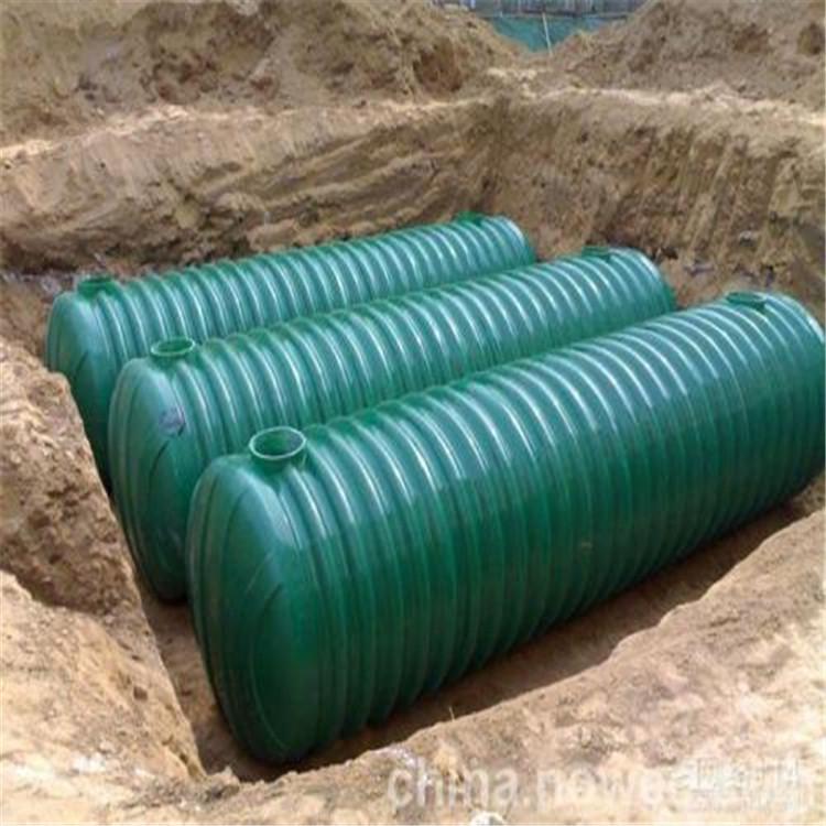 (锡林郭勒盟玻璃钢化粪池生产机械成品玻璃钢化粪池规格)卓泰玻璃钢