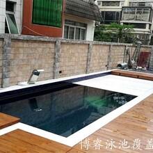 浮條泳池覆蓋系統(地下安裝)