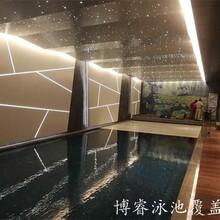 2020博睿浮條泳池覆蓋系統別墅泳池設備定制