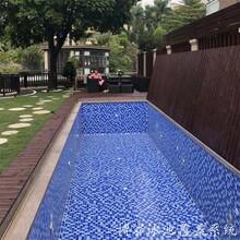 別墅家用明裝游泳池蓋板自動泳池保溫蓋安全蓋博睿私人定制