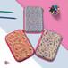 定制EVA兒童文具盒eva創意收納盒pu小學生文具盒蝴蝶圖案筆盒筆袋