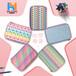 定制EVA兒童文具盒eva創意收納盒PU小學生色彩圖案筆盒筆袋