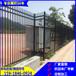 萬寧工廠圍墻護欄帶尖頭黑色柵欄文昌河道焊接安全圍欄