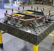 厂家供应三维柔性焊接工作台三维柔性多孔平台精密三维柔性平台